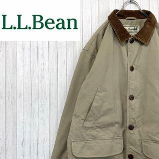 L.L.Bean - エルエルビーン ハンティングジャケット ブルゾン 中綿 キルティング M