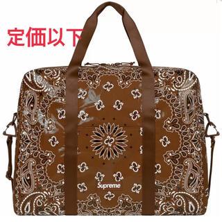 Supreme - Supreme®/ Bandana Tarp Large Duffle Bag