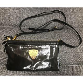 ATAO - アタオ ブーブーショルダー お財布バック 黒