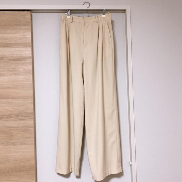 Ameri VINTAGE(アメリヴィンテージ)のclane BASIC TUCK PANTS レディースのパンツ(その他)の商品写真