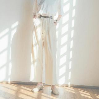 Ameri VINTAGE - clane BASIC TUCK PANTS