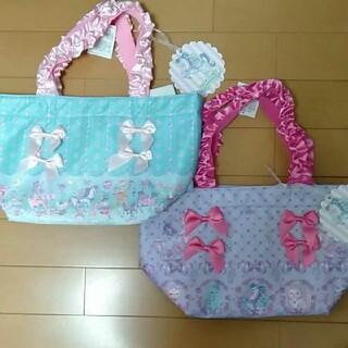 しまむら - エコネコ ★新品★ ミニ トート バッグ 2種類 セット しまむら 夢かわ