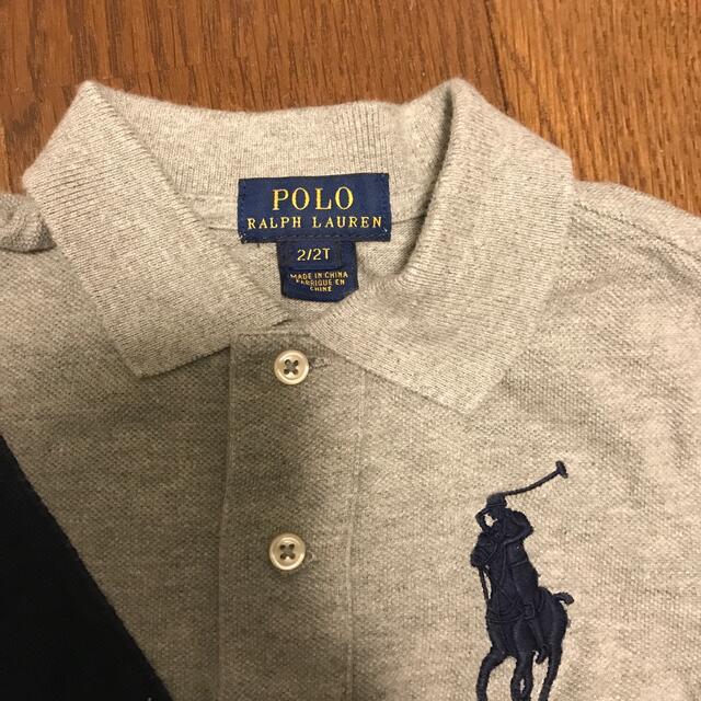 POLO RALPH LAUREN(ポロラルフローレン)のラルフローレン 2T ポロシャツ キッズ/ベビー/マタニティのキッズ服男の子用(90cm~)(Tシャツ/カットソー)の商品写真