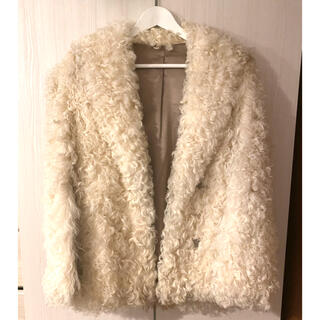 EDIT.FOR LULU - vintage lamb fur coat
