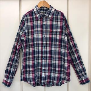 Bohemians - 美品!Bohemians カブトムシ ハート 刺繍 チェックシャツ(2)