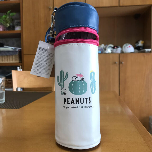 SNOOPY(スヌーピー)のスヌーピーランチセット(弁当箱、ボトルケース) インテリア/住まい/日用品のキッチン/食器(弁当用品)の商品写真