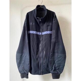 ヨウジヤマモト(Yohji Yamamoto)の希少サイズ xxl dead stock イギリス警察 フリースジャケット(ミリタリージャケット)