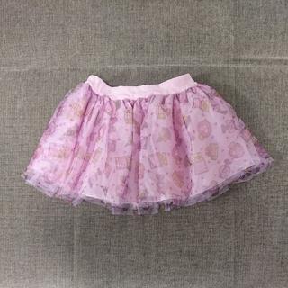 ロニィ(RONI)の125cm RONI パフューム柄 チュールスカート(スカート)