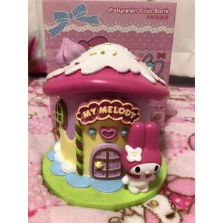 マイメロディ - マイメロディお菓子の家型貯金箱 ジオラマ