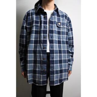 carhartt - 00s~ Carhartt oversized plaid  shirt