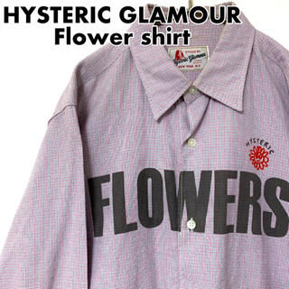 HYSTERIC GLAMOUR - HYSTERIC GLAMOUR ヒステリックグラマー フラワーシャツ