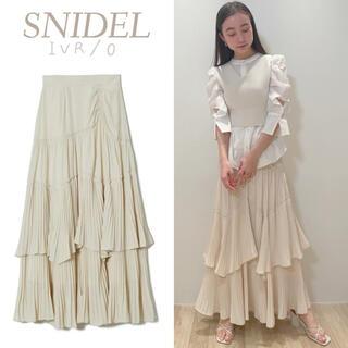 snidel - 新品 ティアードフリルスカート SNIDEL ロングスカート