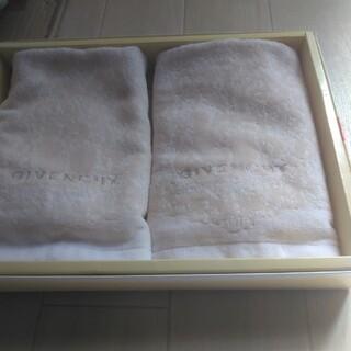 ジバンシィ(GIVENCHY)のGIVENCHYハンドタオル2枚 新品未使用(タオル/バス用品)