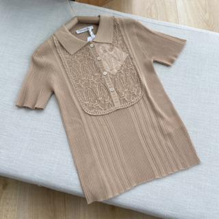 Dior - ディオール 新作2021SSコレクション レース半袖シャツ