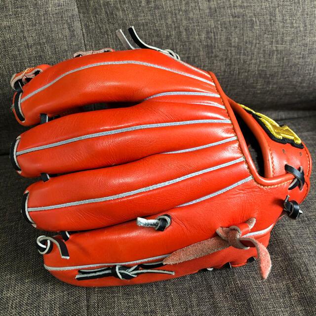 HI-GOLD(ハイゴールド)のハイゴールド 軟式用グローブ 己極 スポーツ/アウトドアの野球(グローブ)の商品写真
