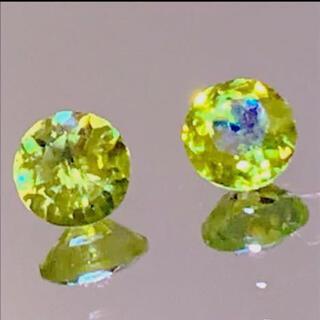 天然石 宝石 スフェーン ルース2個♡✨ 高次元の波動(その他)