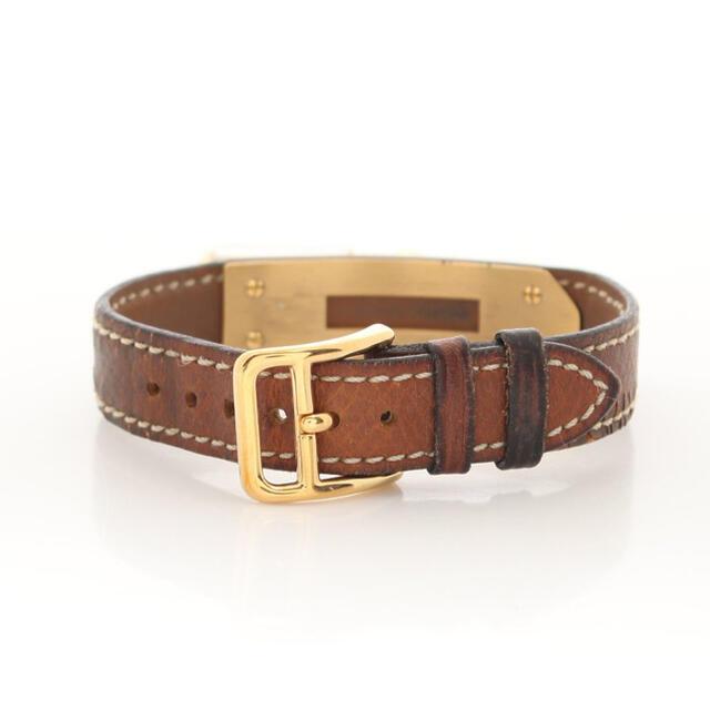 Hermes(エルメス)のHERMES ⭐️ケリーウォッチ 腕時計 レディース クオーツ 茶色 ゴールド レディースのファッション小物(腕時計)の商品写真