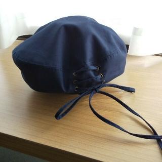 ジーユー(GU)のGU 編み上げベレー帽(ハンチング/ベレー帽)