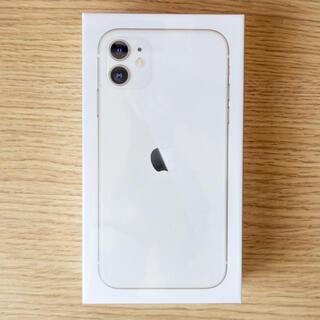 Apple - iPhone11 64GB SIMフリー 新品未開封 保証1年付 ホワイト