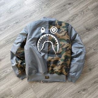 A BATHING APE - 新品 BAPE X ALPHA SHARK ジャケット