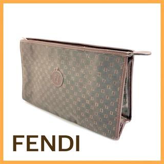 フェンディ(FENDI)のフェンディ セカンドバッグ ハンドバッグ ズッキーノ ズッカ クラッチバッグ(セカンドバッグ/クラッチバッグ)