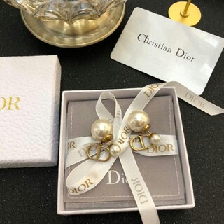 Christian Dior - 超美品 ディオール ピアス Christian dior