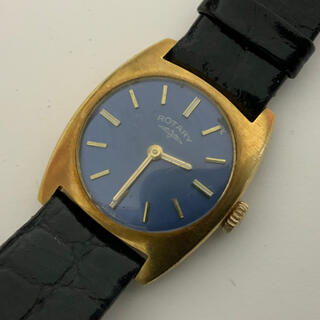 超希少 ROTARY ロータリー スイス 18K 750 金無垢 手巻き 腕時計