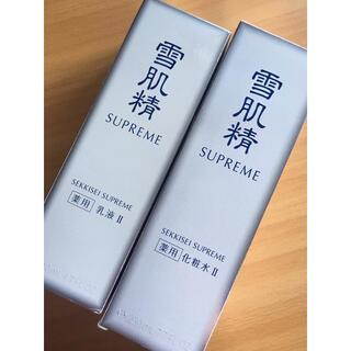 雪肌精 - KOSE 雪肌精 シュープレム 化粧水 乳液 新品未使用 230ml 140ml