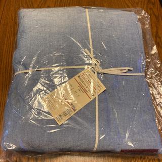 MUJI (無印良品) - 新品タグ付き!オーガニックコットン敷き布団シーツゴム付き