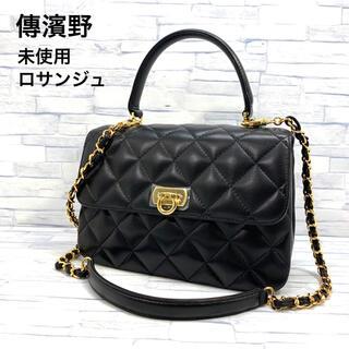 濱野皮革工藝/HAMANO - 未使用 傳濱野 2way キルティング バッグ ロサンジュ