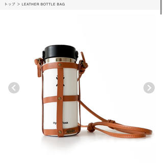 シールームリン(SeaRoomlynn)のSeaRoomlynn LEATHER BOTTLE BAG(ショルダーバッグ)