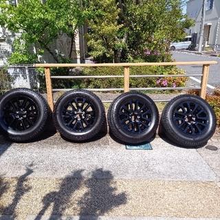 トヨタ - ランドクルーザープラドブラックエディションホイール