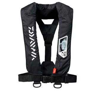 ダイワ(DAIWA)のダイワ(DAIWA) ウォッシャブルライフジャケット(肩掛けタイプ手動・自動膨脹(ウエア)
