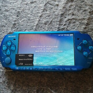 PlayStation Portable - PSP3000最新形バッテリ80%美品本体