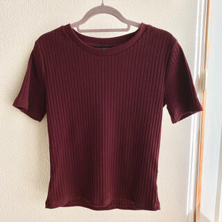 PAGEBOY - PAGEBOY  ☻ Tシャツ ボルドー