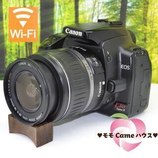 Canon - キヤノン Kiss X☆WiFiでスマホ転送♪望遠レンズセット☆1556