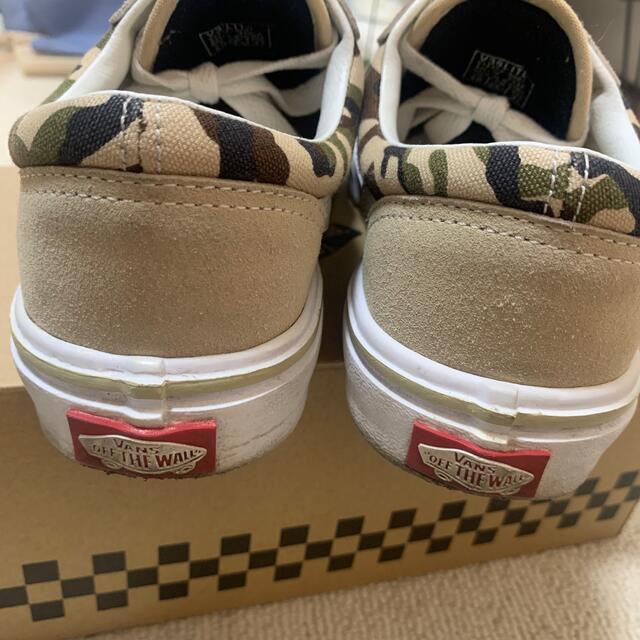 VANS(ヴァンズ)のvans スニーカー カモ 23.5cm レディースの靴/シューズ(スニーカー)の商品写真