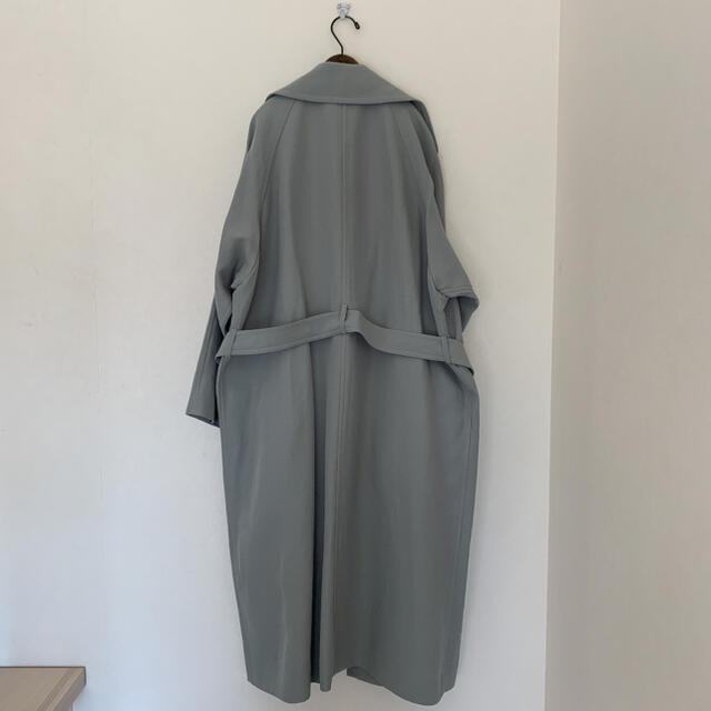 IENA(イエナ)の* IENA * アセテートコットンオーバーチェスターコート レディースのジャケット/アウター(チェスターコート)の商品写真