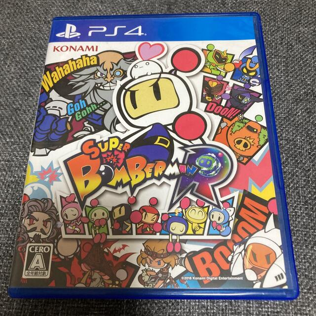 PlayStation4(プレイステーション4)のスーパーボンバーマンR PS4 エンタメ/ホビーのゲームソフト/ゲーム機本体(家庭用ゲームソフト)の商品写真