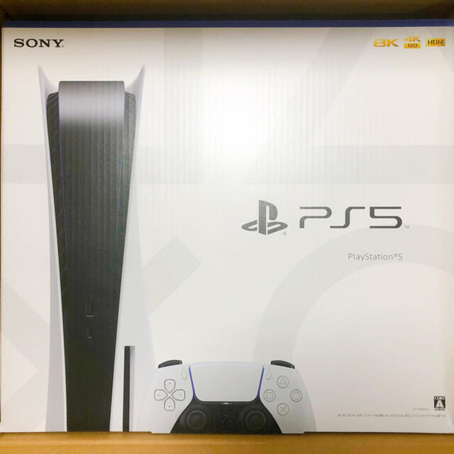PlayStation(プレイステーション)の【新品・未開封】PlayStation5 本体 エンタメ/ホビーのゲームソフト/ゲーム機本体(家庭用ゲーム機本体)の商品写真