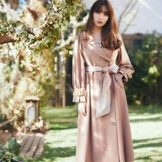 herlipto Belted Dress Trench Coat M