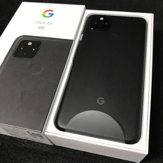 Google Pixel - 【新品/未使用/SIMフリー】Google Pixel4a 5G★一括購入★