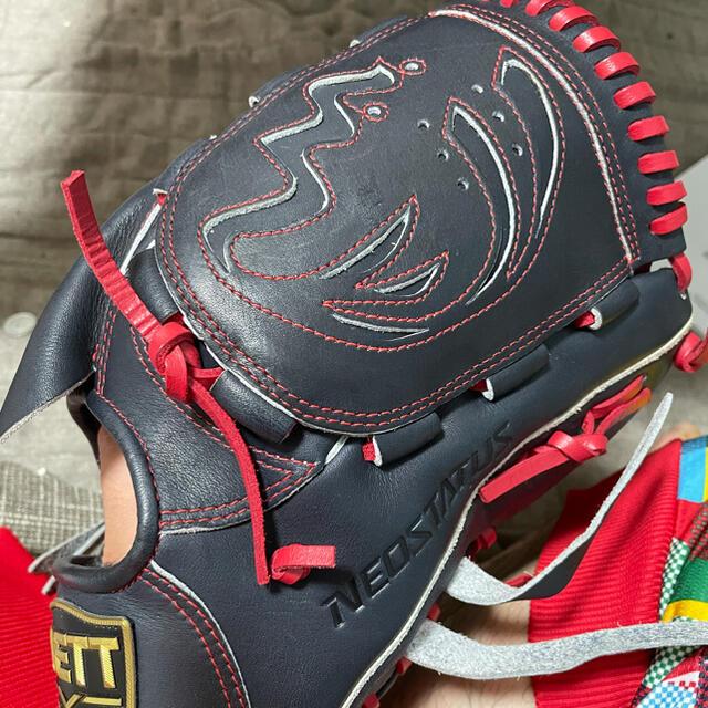 ZETT(ゼット)のゼット軟式投手用 スポーツ/アウトドアの野球(グローブ)の商品写真