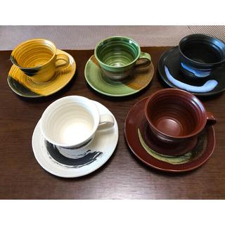 コーヒーカップ&ソーサー ( 5客組 )