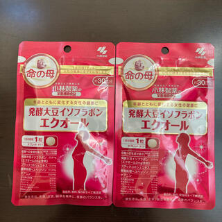 小林製薬 - 小林製薬 大豆発酵イソフラボン エクオール 30日2袋