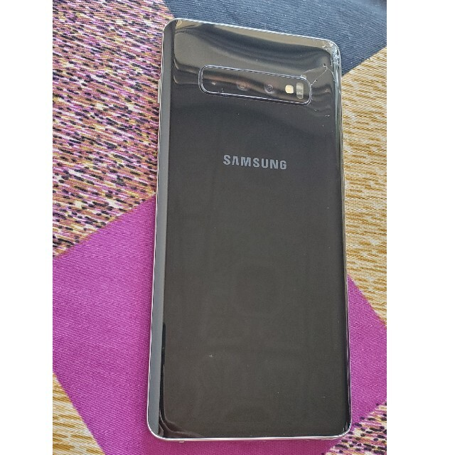 Galaxy(ギャラクシー)のsamsung galaxy s10 plus au  スマホ/家電/カメラのスマートフォン/携帯電話(スマートフォン本体)の商品写真