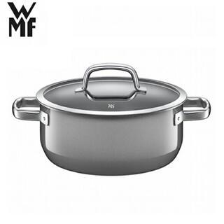 ヴェーエムエフ(WMF)のWMF フュージョンテック ローキャセロール 20cm プラチナム(鍋/フライパン)