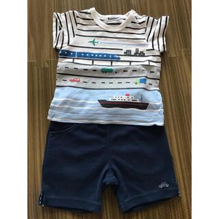 familiar - ファミリア tシャツパンツセット 美品