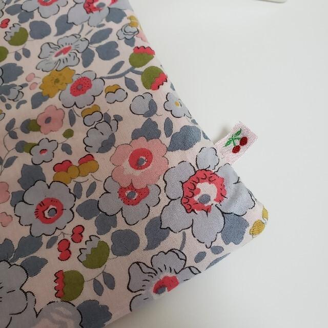 Bonpoint(ボンポワン)のBonpoint(ボンポワン) リバーシブル バッグ ピンク×LIBERTY B キッズ/ベビー/マタニティのこども用バッグ(レッスンバッグ)の商品写真