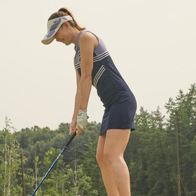 le coq sportif(ルコックスポルティフ)のLe coq golf ルコック ゴルフ 韓国 ワンピース スポーツ/アウトドアのゴルフ(ウエア)の商品写真